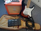 Fender Stratocaster HSS + Orange Crush + Zoom G3Xn